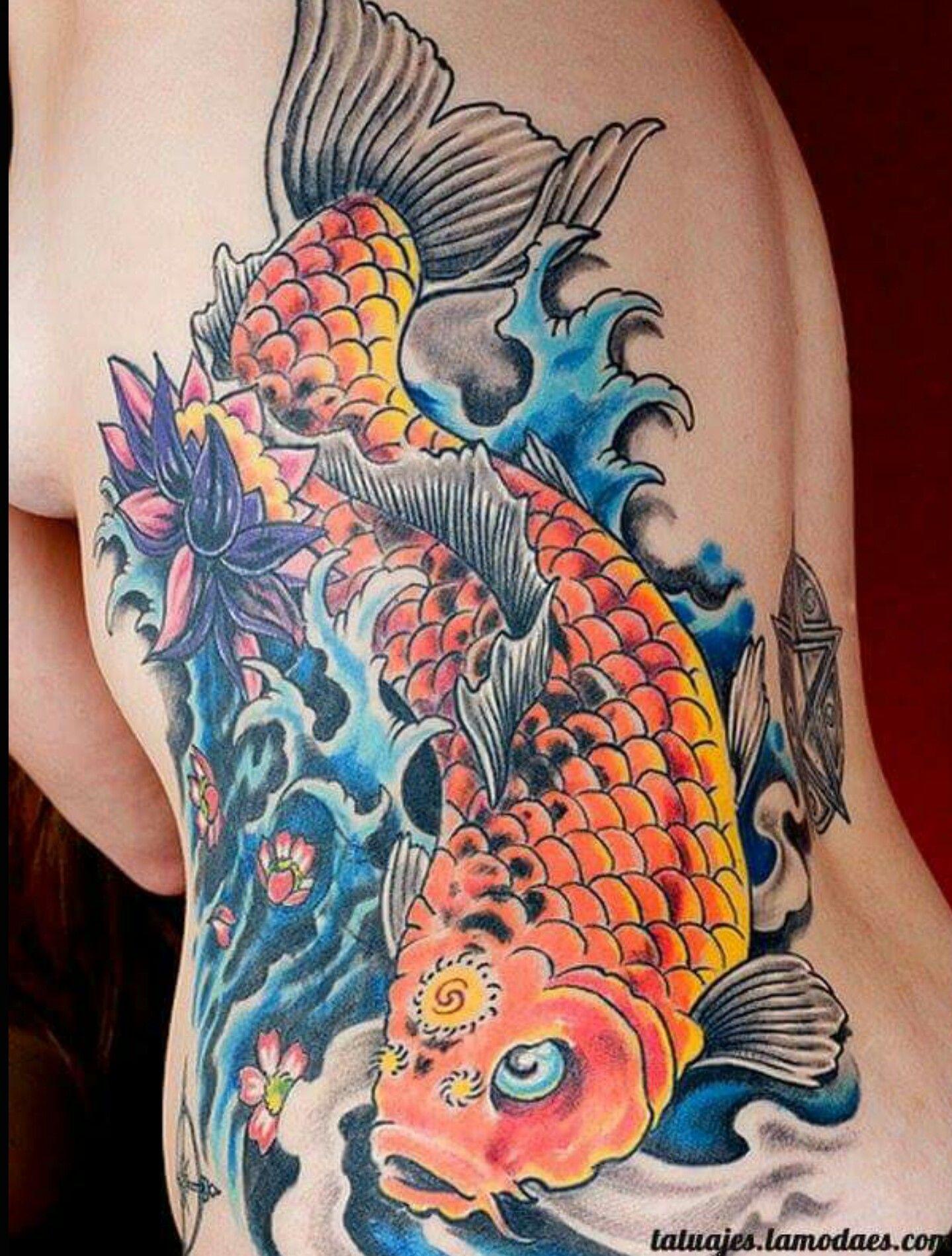 Pin By Lola Ruiz On Tattoos Japanese Koi Fish Tattoo Koi Tattoo Design Koi Fish Tattoo