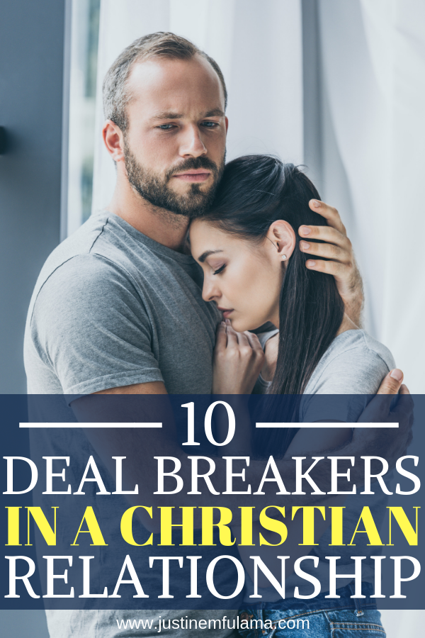 Christian dating deal breakers