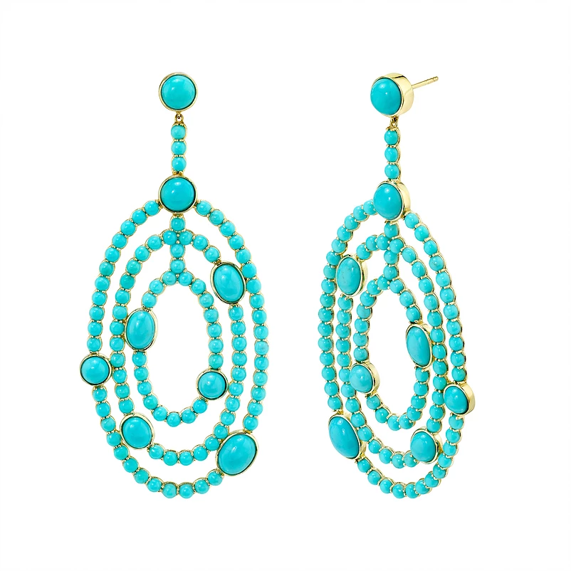 Pop Perfect Ring Diamontrigue Jewelry: Semi-Precious Gemstones