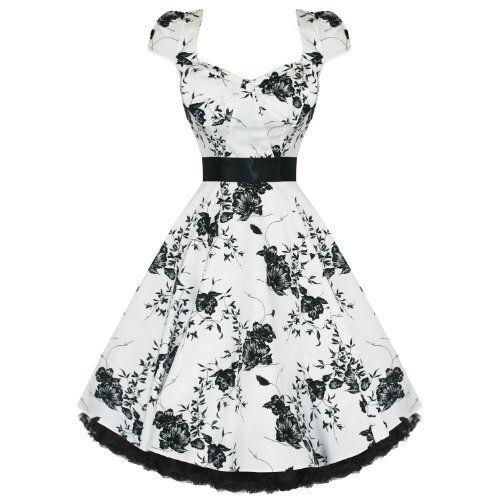 White 50s dresses uk sale
