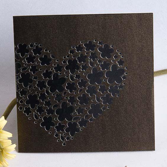 Liebe Ist Eine Blüte Der Einzigartigkeit U003cbr /u003e Außergewöhnliche  Einladungskarten Hochzeit