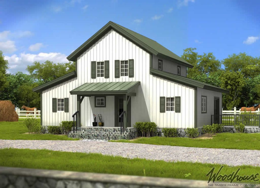 PrairieView  Woodhouse The Timber Frame Company