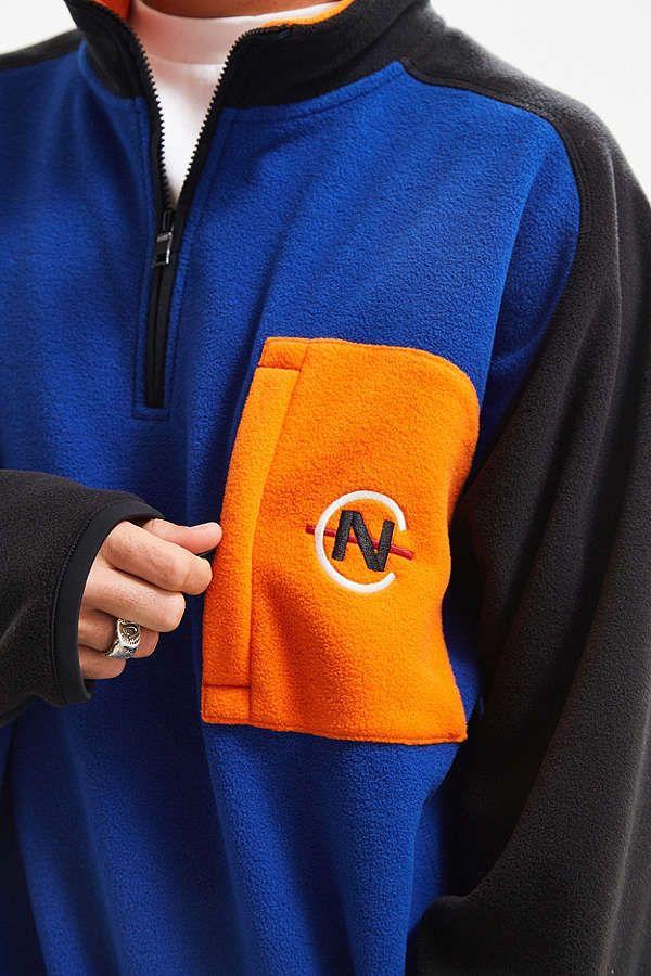 Nautica Competition For Uo Polar Fleece Half Zip Sweatshirt Half Zip Sweatshirt Sweatshirts Half Zip