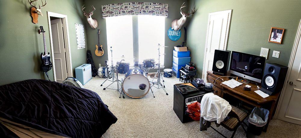Nice And Tidy Home Music Studio