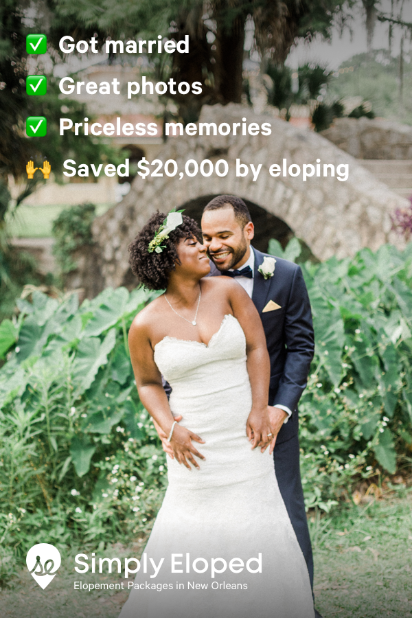 New Orleans Elopement Packages Elope In New Orleans The Easy Way New Orleans Elopement New Orleans Wedding Elopement