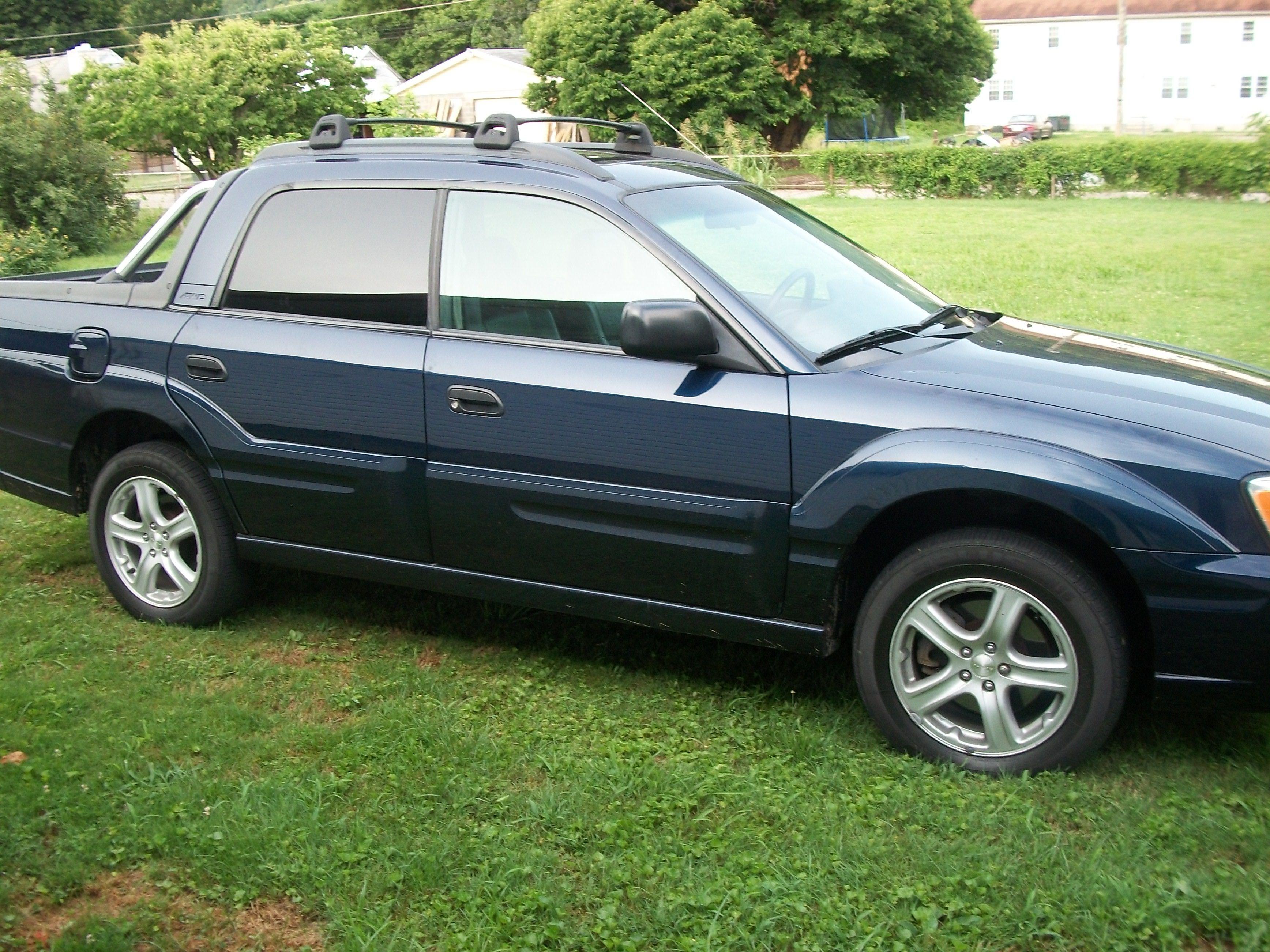 My current ride 2004 subaru baja bought in june 2010