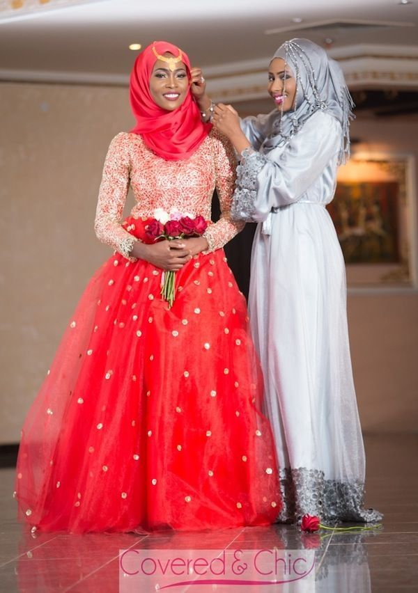 Nice Muslim Wedding Dresses Covered & Chic: Bridal Wear For The ...