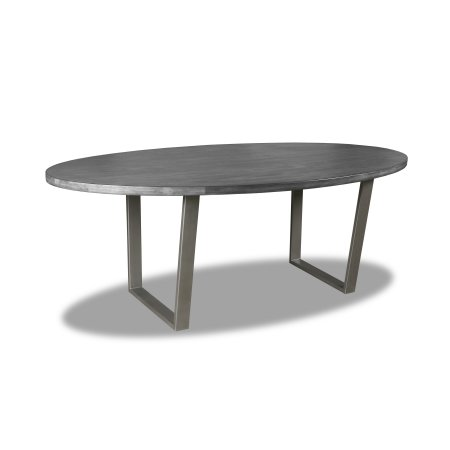 South Cone Home Soho Oval Dining Table 84 Inch Top Cement Size 84 Inch Dining Table Dining Table Sizes Table