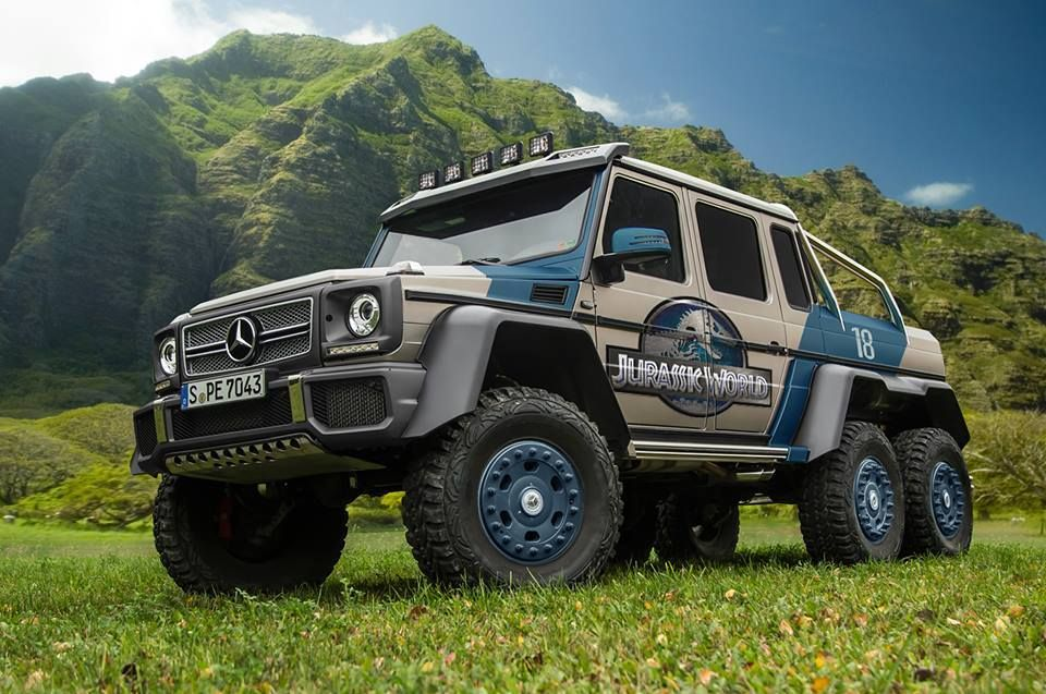 Using the Merc 6x6 for Jurassic World would be a perfect alternative ...