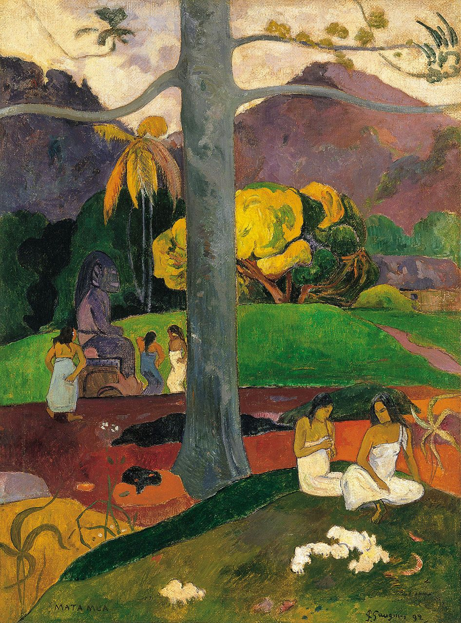 Arte Wikipedia It List Of Paintings By Paul Gauguin Wikipedia The Free