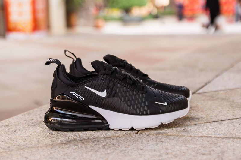 the latest e4953 0ad90 Nike Air Max 270 AH6789-002 Black White Sneaker for Sale-15