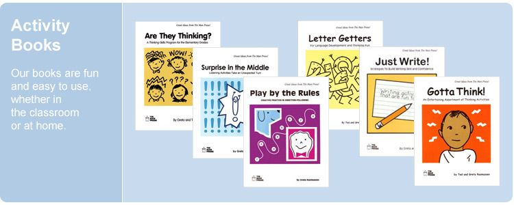Tin Man Press | Enrichment Materials for Elementary Grades