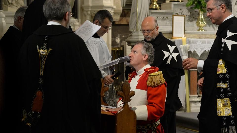 Order of Malta knights Irish man in ancient ceremony A 500-year wait has been broken by a 51-year-old art historian