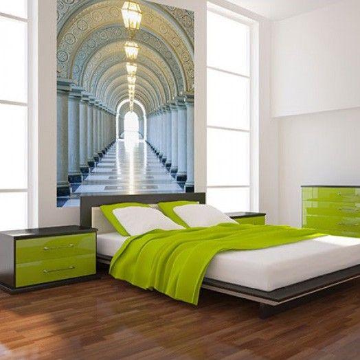 Fotobehang Met Een Diepte Effect Mooi Voor In Je Slaapkamer Behang Wall Murals Decor En Wall