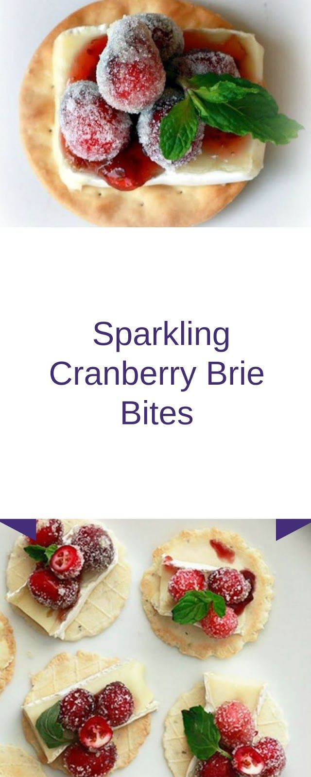 Sparkling Cranberry Brie Bites #christmas #appetizer | Yumms Food Recipes #cranberrybriebites Sparkling Cranberry Brie Bites #christmas #appetizer | Yumms Food Recipes #cranberrybriebites