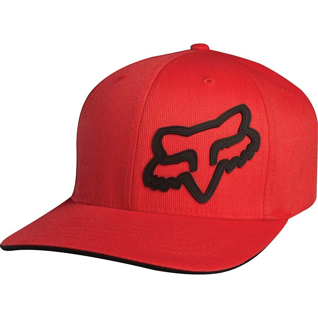 The Fox Racing men s Signature Flexfit hat has a gel Fox Head logo on the  front and a Fox embroidered logo on the back. This hat features a natural  curved ... d4eaa8ff008