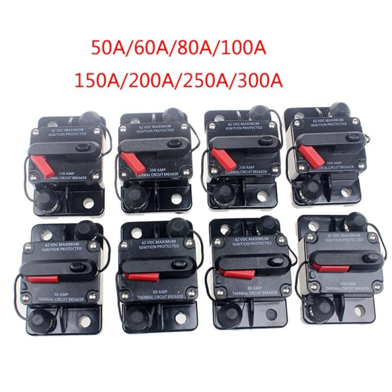 50a 60a 80a 100a 150a 200a 250a 300a Car Audio Amplifier Circuit Breaker Fuse Holder Agu Style Stereo Amplifier Refit Yeste Audio Amplifier Car Audio Amplifier