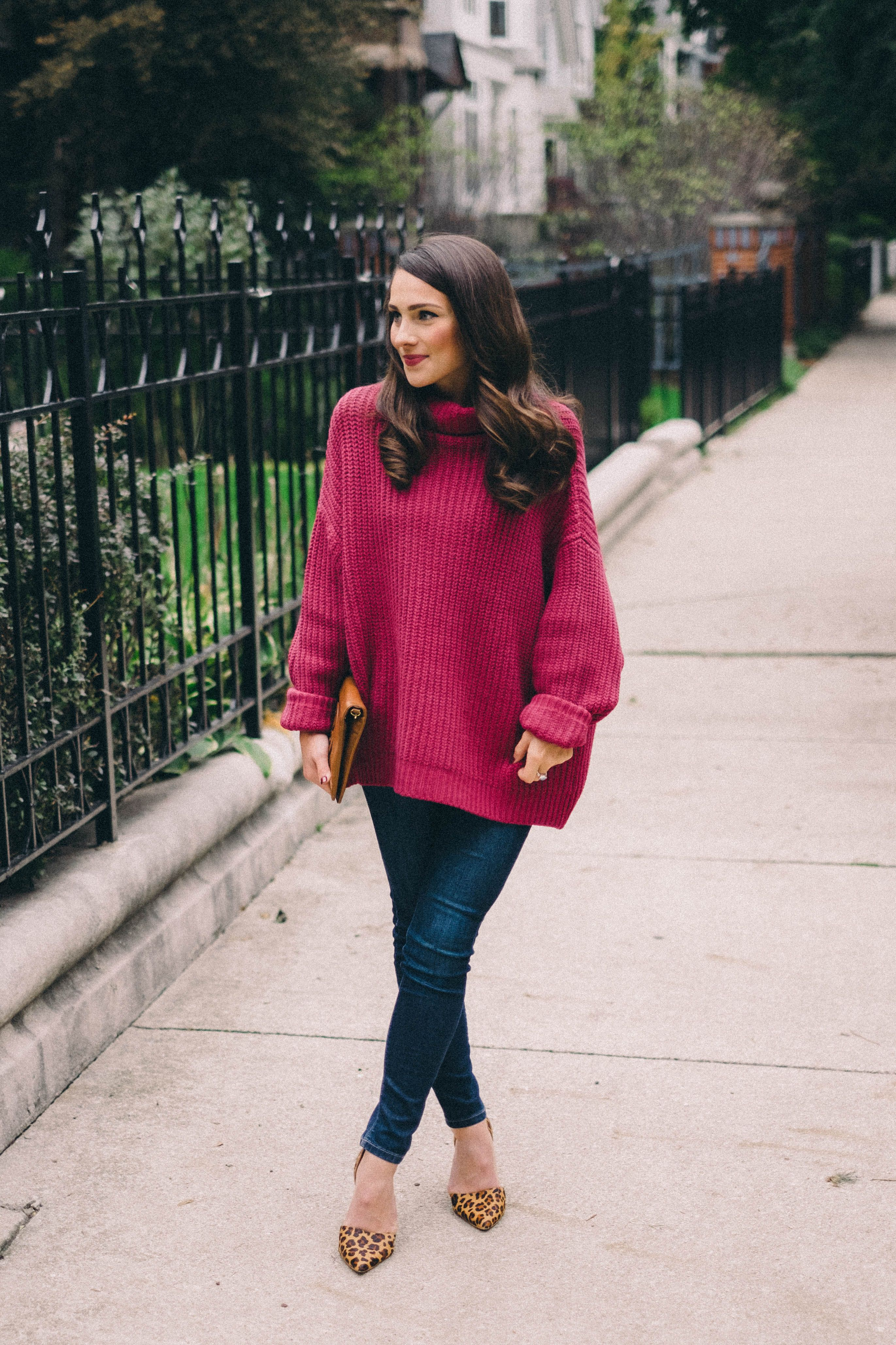 Big Pink Sweater My Style Pink Sweater Sweaters Free People
