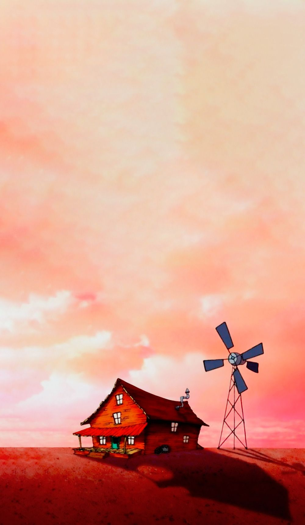 Courage the Cowardly Dog | Scenery | Wallpaper | Séries | Pinterest ...
