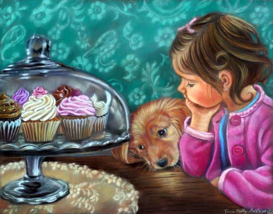 Tricia Reilly-Matthews. American painter..