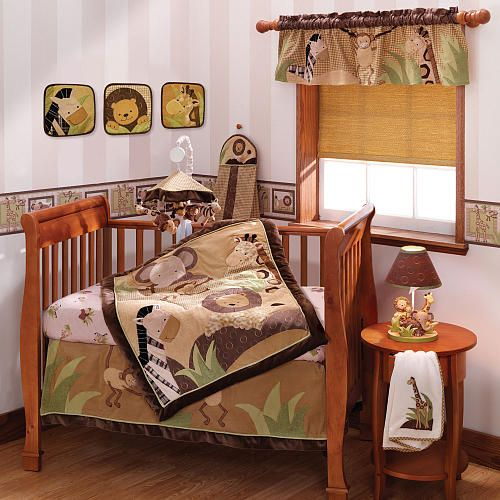 Lambs Amp Ivy Baby Cocoa 9 Piece Crib Bedding Set Nursery