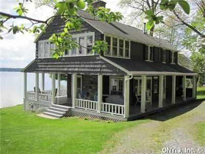 An Actual Adorable Lake House For Sale In Owasco Ny The