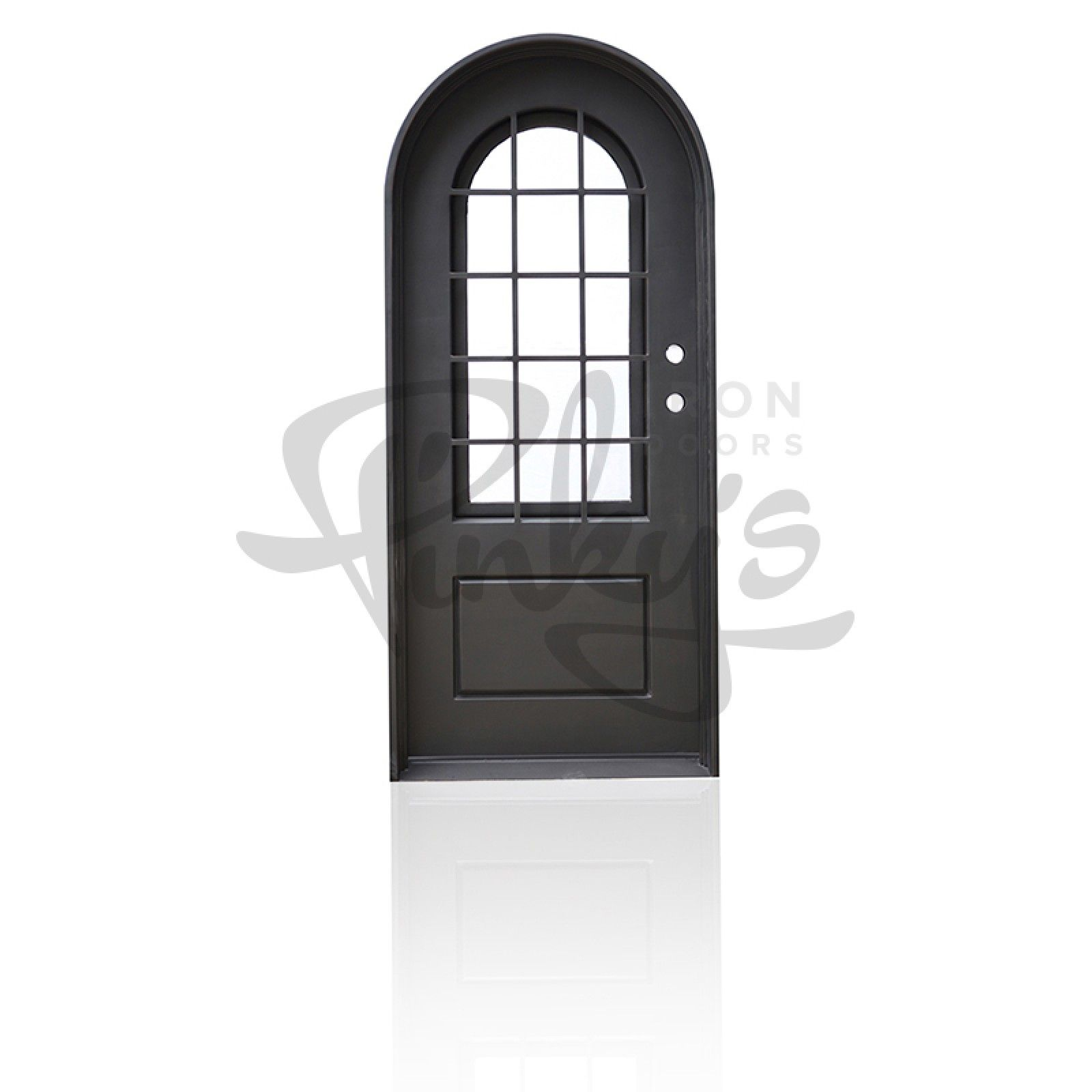 Exterior Wrought Iron Entry Front Doors Single Full Arch 36 X 81 40 X 96 36 X 96 40 X 82 Pinky S Air Wrought Iron Doors Front Entry Doors Iron Doors