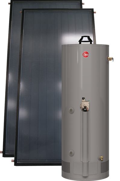 Integrated Heating Water Heating System Powered By Tankless