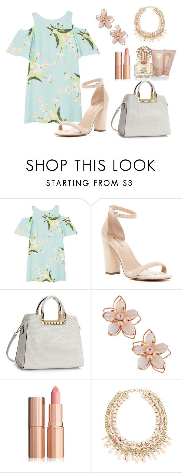 """Untitled #129"" by jackieeprado ❤ liked on Polyvore featuring MANGO, Call it SPRING, NAKAMOL and Vince Camuto"