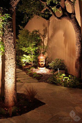 Vanderbilt Asian Landscape Sacramento Viewpoint Lighting Zen Garden Design Asian Landscape Zen Garden