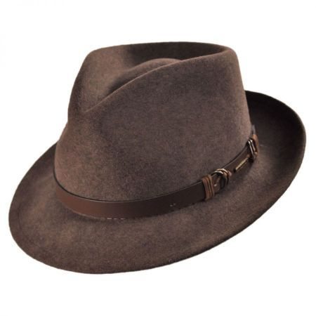 Goswell Crusher Fedora Hat available at  VillageHatShop  c4e4655d4ee
