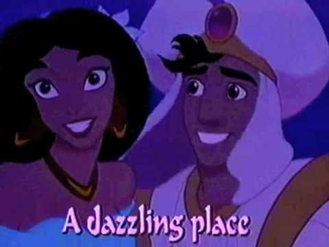 A Whole New World Lyrics from Aladdin | Disney Song Lyrics
