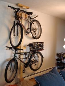 DIY Bike Rack Revisited | Diy bike rack, Storage ideas and Garage ...