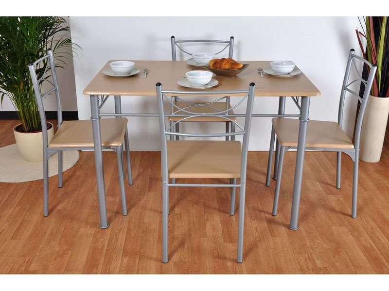 Ensemble table 4 chaises table cuisine table et chaises et chaise cuisine - Ensemble chaise et table ...