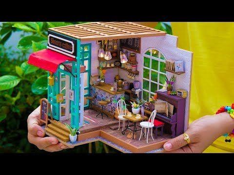5 Diy Miniature Doll House Rooms 2 Youtube Alawna Dolls