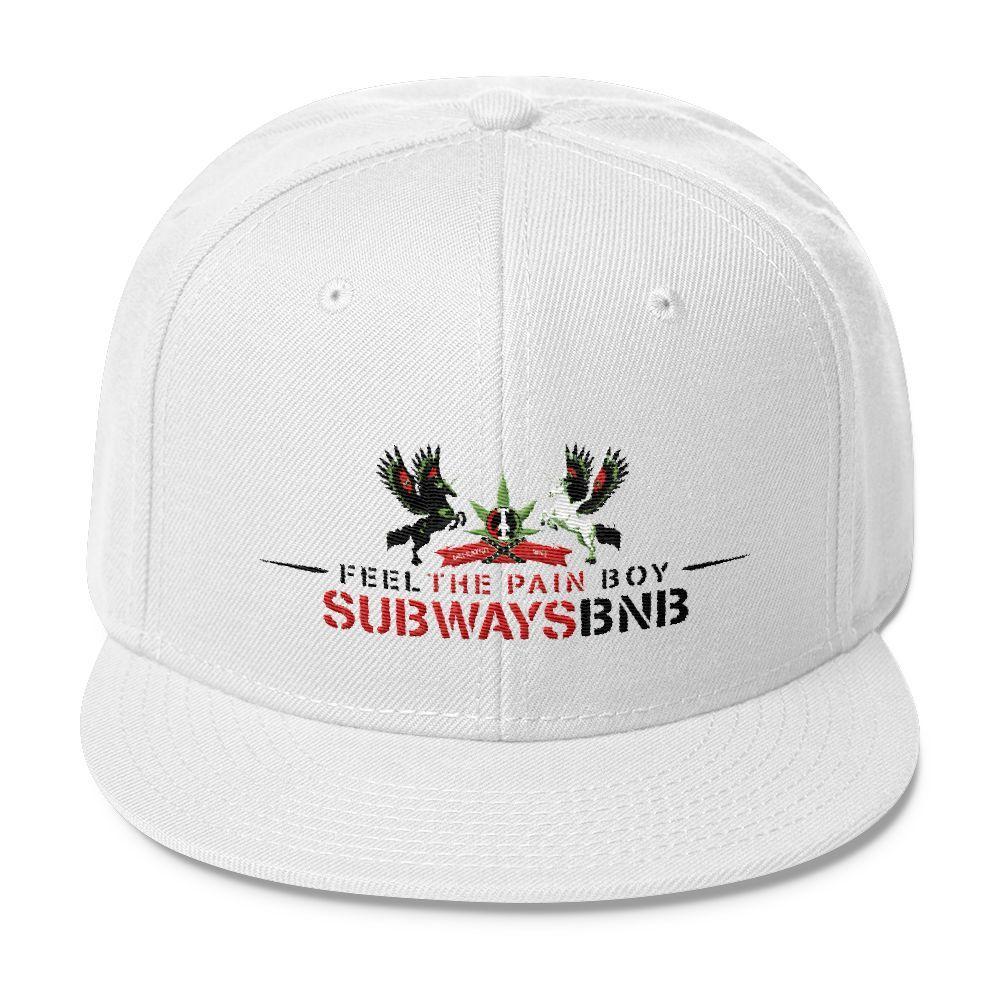 Subwaysbnb Wool Blend Snapback