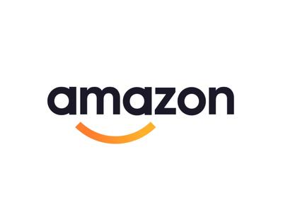 The New Amazon Identity Design Logo Rebranding Logo Logos