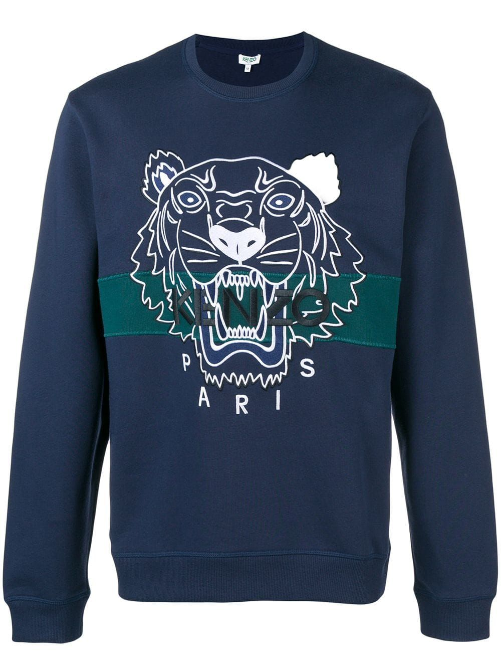 55e99145f2 Kenzo Tiger sweatshirt - Blue in 2019 | Products | Kenzo ...