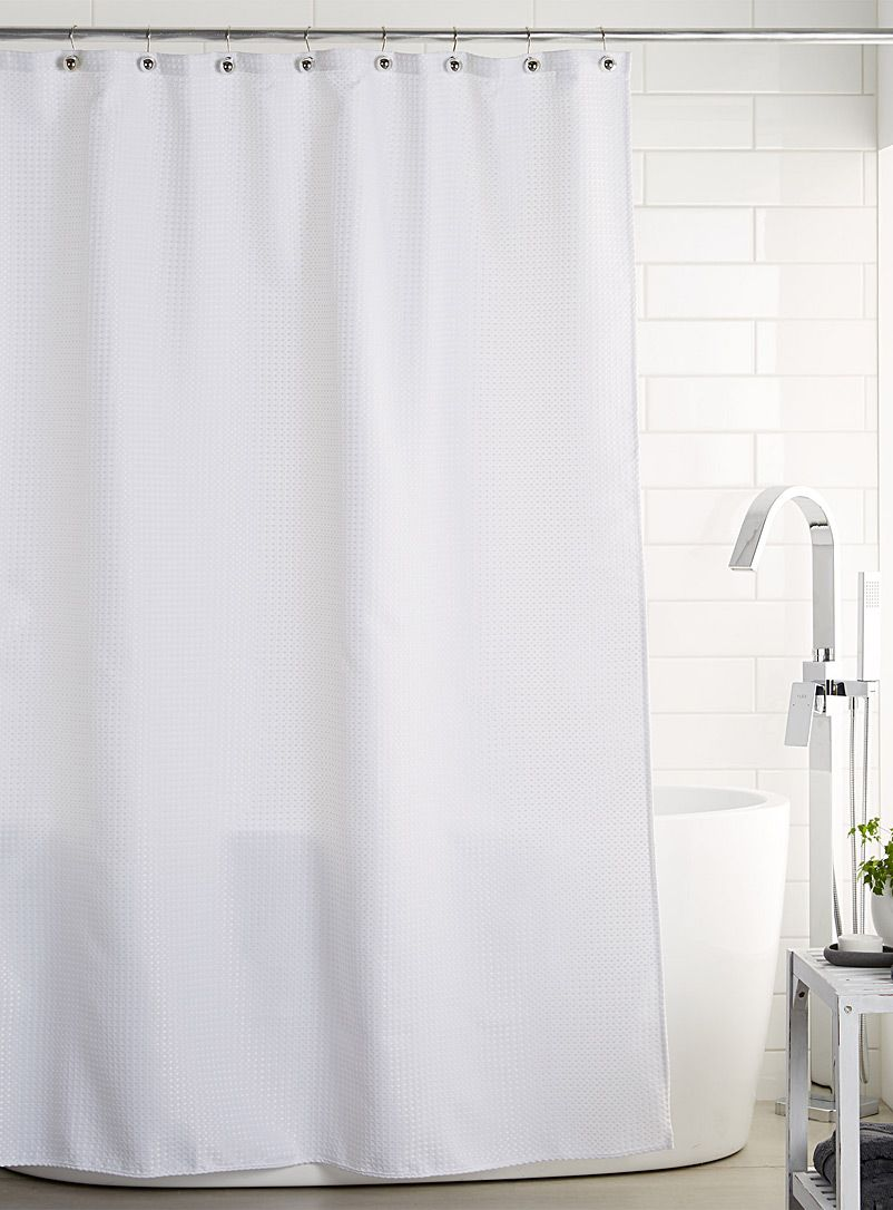 Honeycomb Shower Curtain Curtains Fabric Shower Curtains Shower