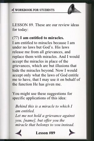 Lesson 89 From A Course In Miracles Workbook Course In Miracles