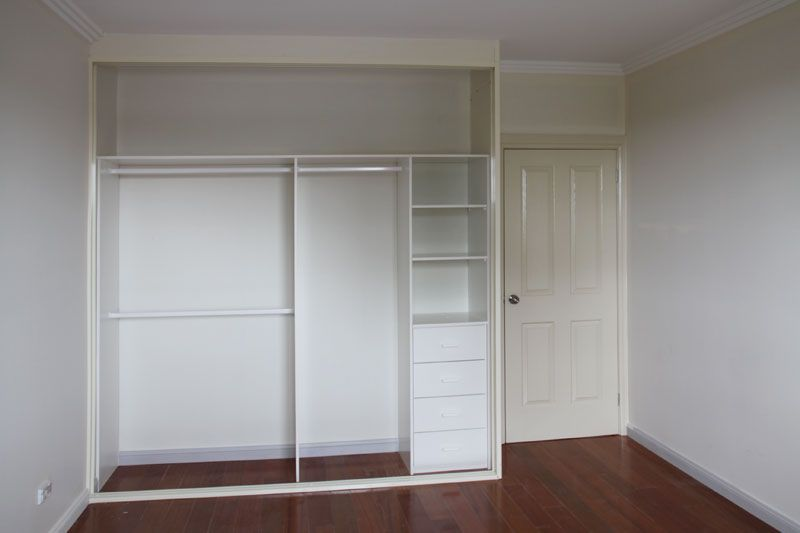Make Space Feel Organised Built In Wardrobe Home Organization