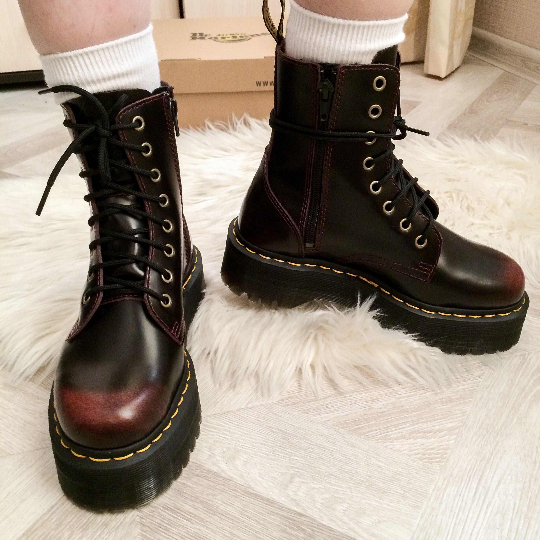 Dr. Martens Jadon Platform 8 Eye Boot | Наряды, Стиль и Обувь
