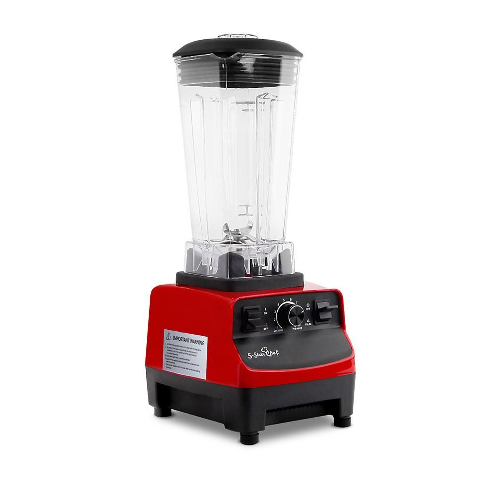 2in1 food processor blender 2l red buyproductsnow