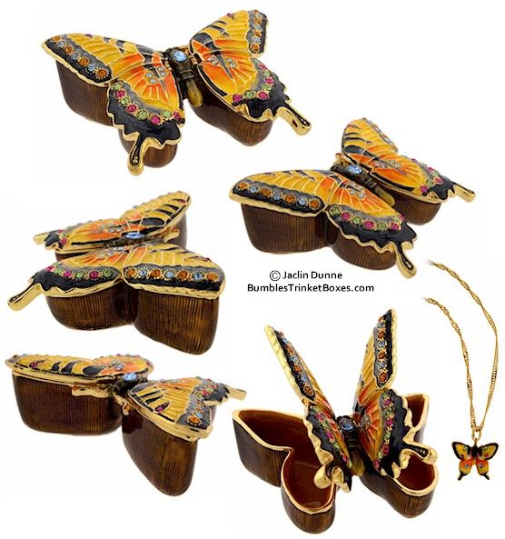 Trinket Box: Swallowtail ButterflyTrinket Box