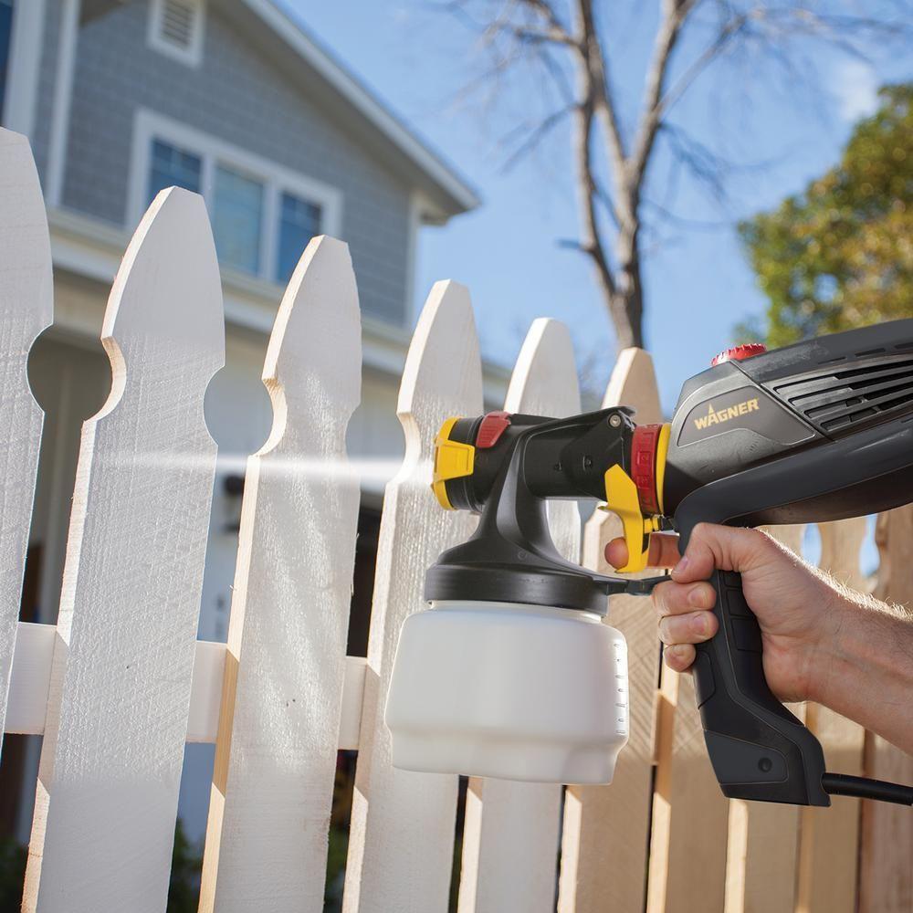 Flexio 2000 sprayer hvlp paint sprayer outdoor paint
