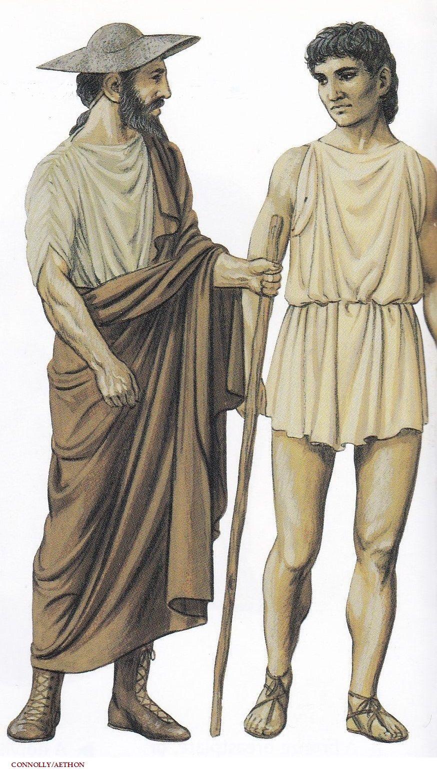 Ancient Athenian Men's Clothing, circa 5th century BC ... - photo #7