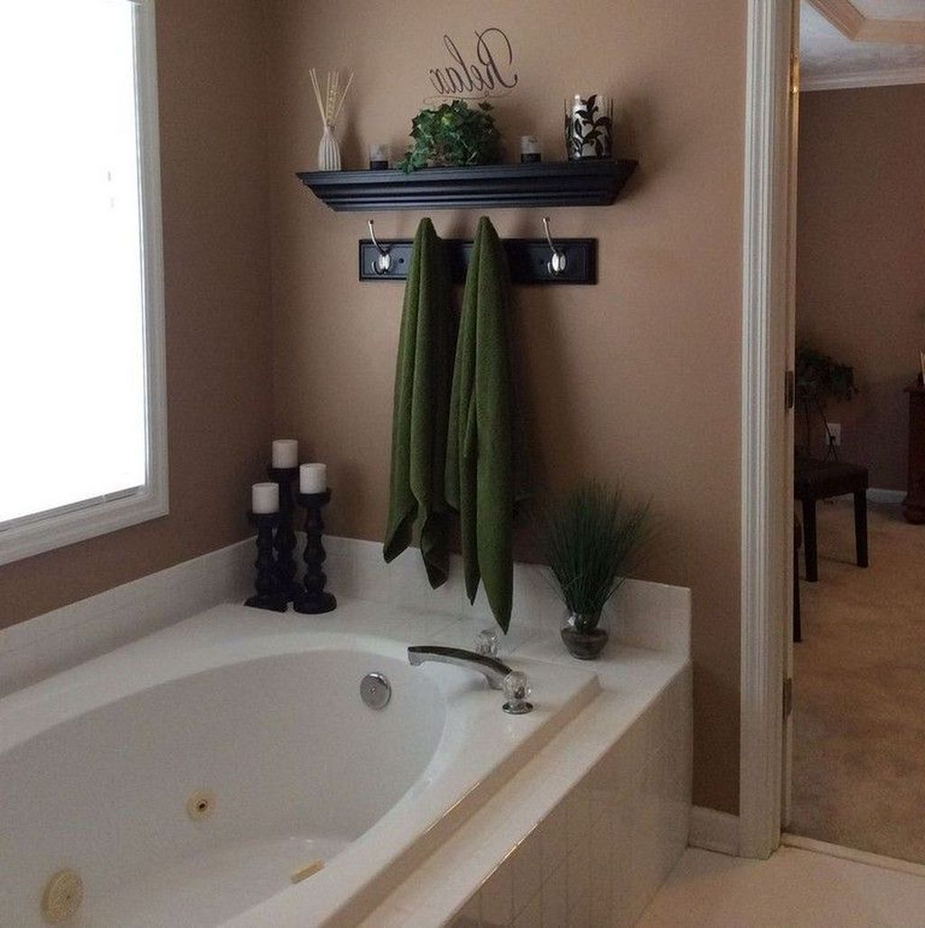 20 Totally Adorable Garden Tub Decorating Ideas 20