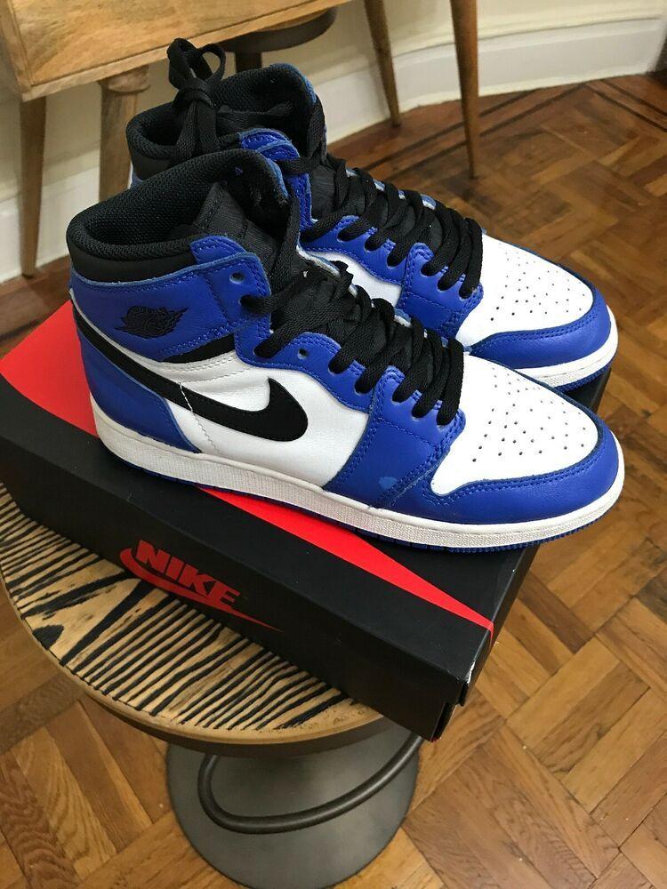 Sponsored Ebay Nike Air Jordan I 1 Retro High Og Gs Game Royal