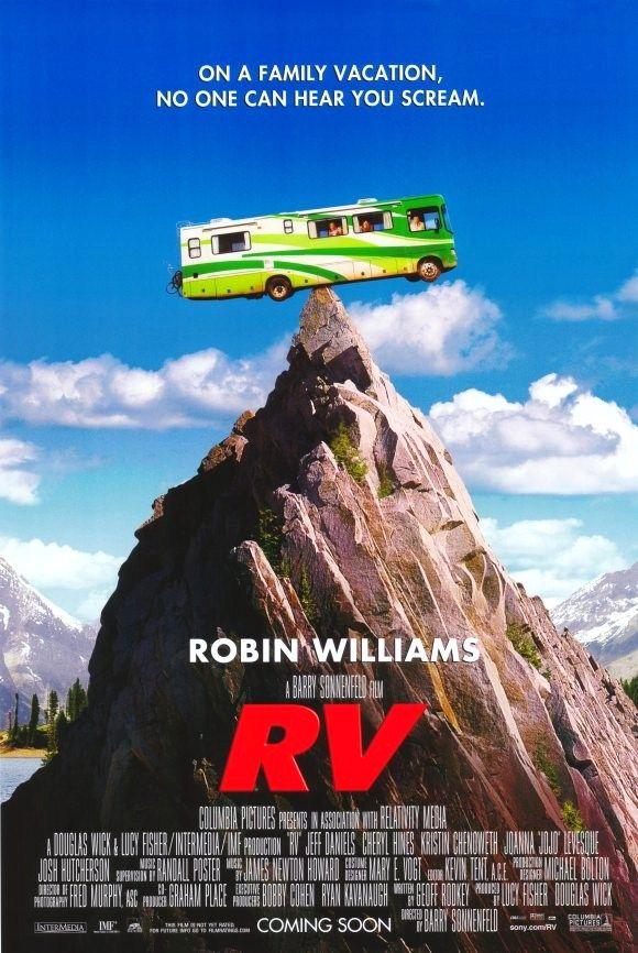 Movie Poster Robin Williams Movies Rv Film Funny Movies