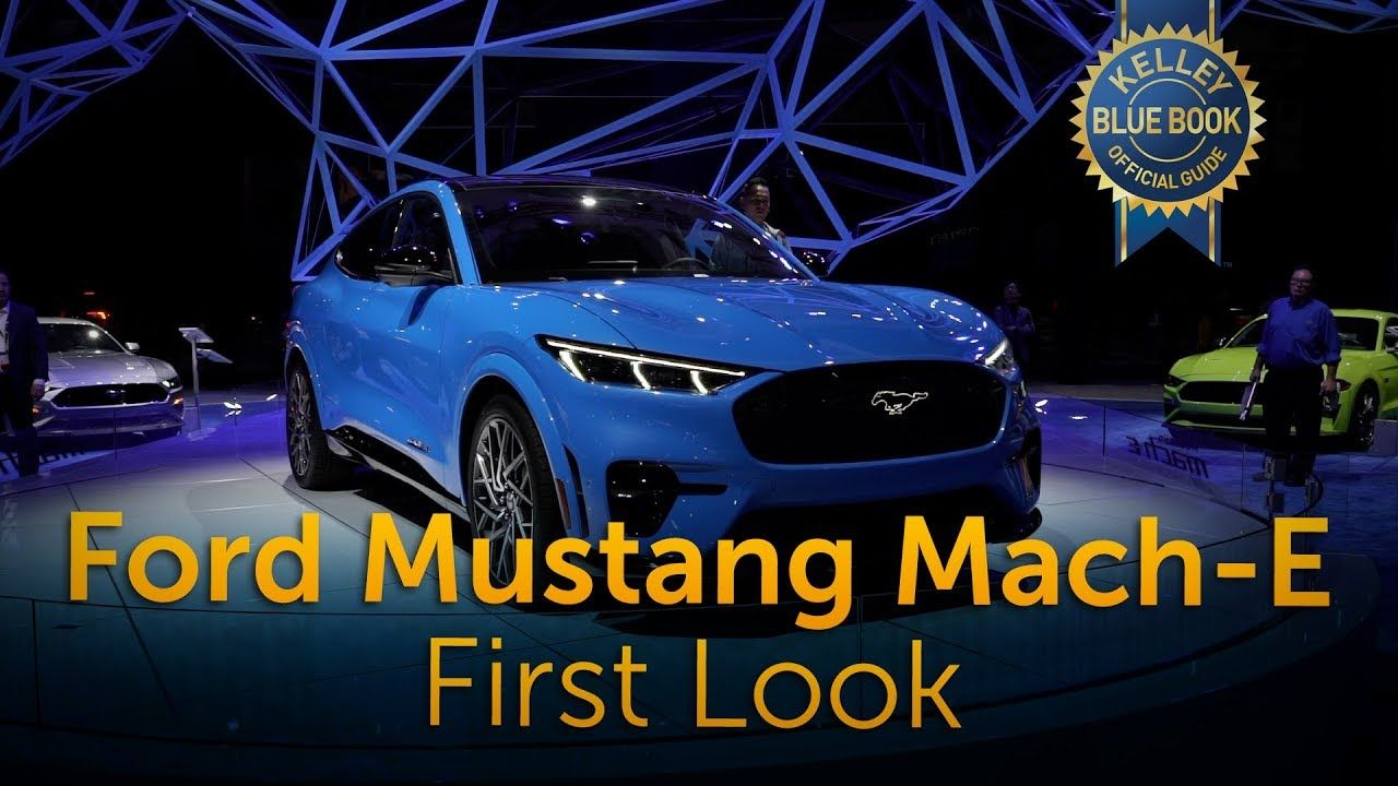 The 2021 Ford Mustang Mach E Is Not A Coupe And It Has No V8